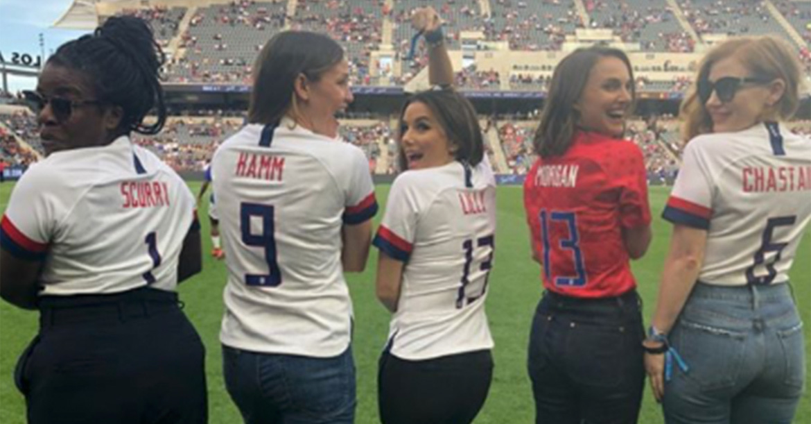 Natalie Portman and Eva Longoria Create New Women's Football Team in LA